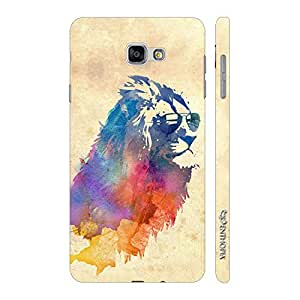Enthopia Designer Hardshell Case Lion's Mane Back Cover for Samsung Galaxy A7 (2017)