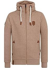 Naketano Male Zipped Jacket Ivic
