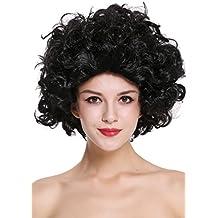 WIG ME UP ® - 91074-ZA103 Peluca Carnaval Mujer Largo Medio, Rizado,