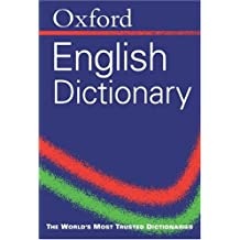 Oxford English Minidictionary