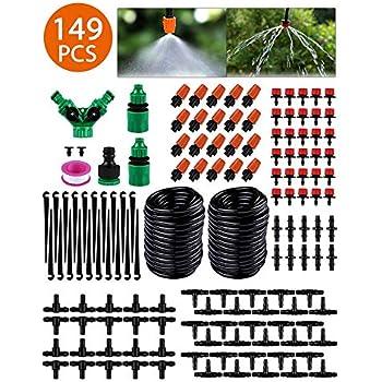 Tröpfchenbewässerung Kit Automatisches... Micro Drip Gartenbewässerungssystem