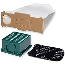 6 Staubsaugerbeutel Vlies geeignet Vorwerk Kobold 130 131 10 Duft