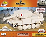Cobi 3018 Nano Tank Cromwell, World of Tanks, 72 Bausteine