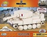 COBI World of Nano Tank Cromwell (72 Pcs) Jouet, COB03018, Coloris Assortis