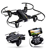 JoyGeek Drone with Camera for Adults, Toys Foldable RC Quadcopter with Live Video