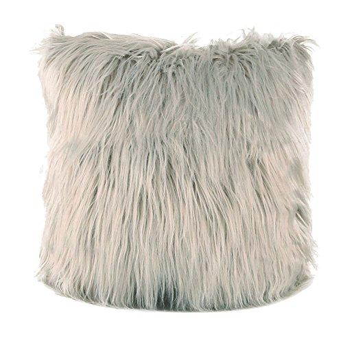 se, kissenhülle Kopfkissenbezug Home Dekoration Kissenbezug 9 Farbe Plüsch Super weich Sofakissen für Wohnzimmer Sofa Bed,45x45cm (Grau) ()