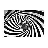 2 stücke halloween 3d wandaufkleber horror tapete bar dekoration schlafsaal schlafzimmer parodie thriller aufkleber-abnehmbare diy vinyl wandtattoos