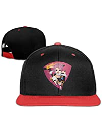 Fairy Tail Natsu Dragneel Personalize Boy Girl Kids Hiphop Hat Cotton Cool Red