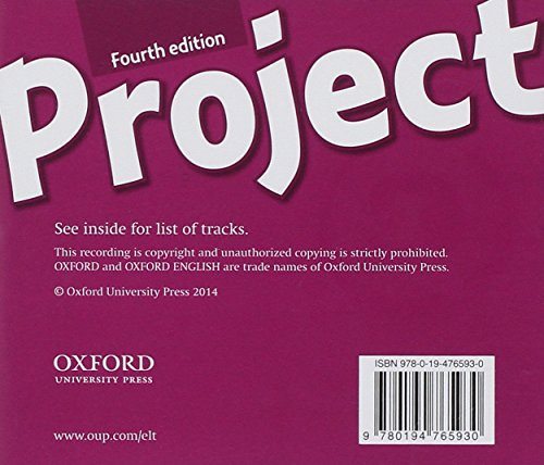 Project 4: Class CD (4th Edition) (Project Fourth Edition)