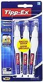 Tipp-Ex Shake'n Squeeze Corrector Líquido (4 ml) - Blíster de 3 unidades