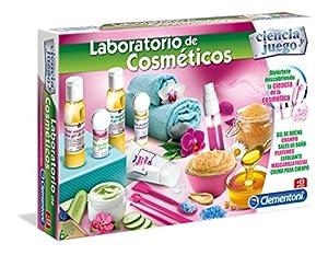 Clementoni- Juego Laboratorio cosméticos+8años 41x28 Kit CREA (55203.0)