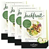 Lotao Jackfruit natur, Fleischersatz, vegan, bio, 4er Pack (4 x 200 g)