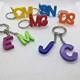 Personalised Initial Keyring, Party Bags Filler, Name Tags, Letter Keyring, Stocking Filler