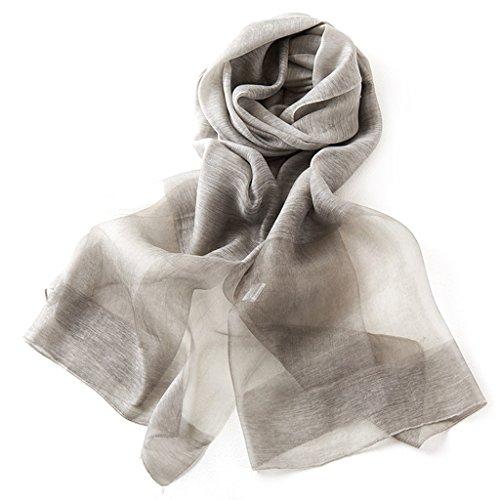 serviette de plage Mme Écharpe en soie Écharpe en soie Echarpe à la taille ( Couleur : #2 ) #3