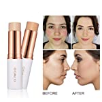 Magical Concealer Stick Foundation Makeup Full Cover Contour Face Concealer Cream Base Primer Moisturizer Hide Blemish