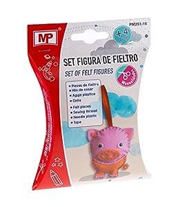 MP- Set Figura de Fieltro Cerdo (PM251-16)
