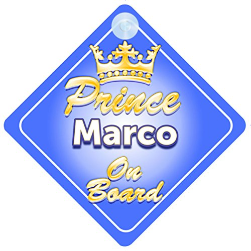 Principe Ereditario Marco bordo personalizzabile Baby/per bambini auto segno
