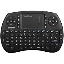 Leelbox Tastiera 2.4GHz Wireless Keyboard con Touchpad Mini Tastiera per