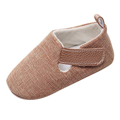 �ße Volltonfarbe Babyschuhe mit Klettverschluss, Baby Jungen rutschfeste Kinderschuhe Baby Mädchen Babyschuhe Sommer Atmungsaktive Schuhe ()