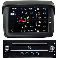 Generic 17,78 cm di Capacitiva Dash Touch Screen Car Entertainment per Mitsubishi Pajero Sport L200 auto PC CD DVD Navigatore GPS radio stereo audio video Multimedia CAN BUS e Bluetooth RDS rubrica TV controllo del volante MFD Rockford e originale con amplificatore
