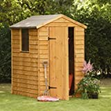 6 x 4 Overlap Premium Apex Shed - MAINLAND UK DELIVERY ONLY