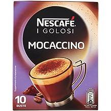 Nescafé - Caffè Golosi, Mocaccino Preparato Solubile in Polvere al Caffè e Cacao - 3 confezioni da 10 buste (10 tazze) l'una [30 buste, 30 tazze]