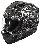 Icon Alliance oro Boros nero opaco casco moto
