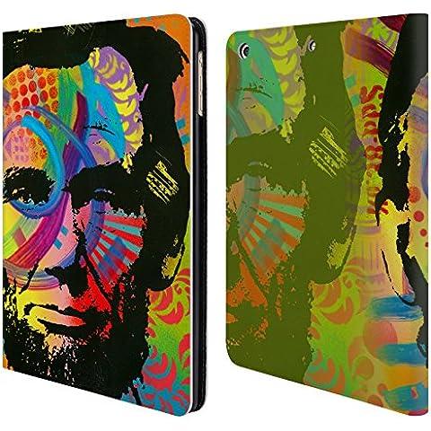 Ufficiale Dean Russo Abraham Lincoln II Leader Famosi Cover a portafoglio in pelle per Apple iPad Air