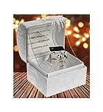 Kristall Glas-Eule Geschenk zum Diplom Ornament Andenken in Message Box Geschenk zum Diplom Neuheit Geschenk