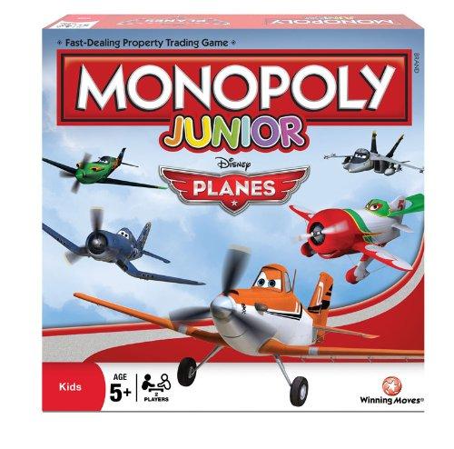 Disney Planes Junior Monopoly Kinder-Brettspiel (evtl. nicht in deutscher (Jr Disney)