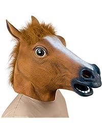 Costume pour Halloween Supmaker - Tête de cheval en latex