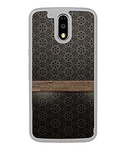 PrintVisa Designer Back Case Cover for Motorola Moto G4 Plus (Wooden Timber Wallpaper Decoration )