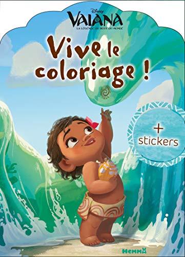 Disney Vaiana - Vive le coloriage !