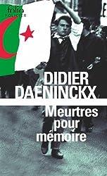 Meurtres pour mémoire: Une enquête de l'inspecteur Cadin
