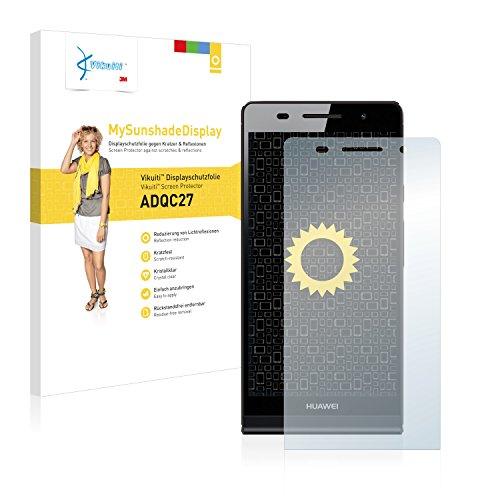 Vikuiti MySunshadeDisplay Displayschutzfolie ADQC27 von 3M passend fr Huawei Ascend P6 P6-U06 (Kristallklar und reflexmindernd, Hartbeschichtet, Schmutzabweisend, Sehr einfache Montage, Rckstandsfrei entfernbar)