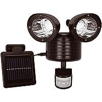 Solalite - Luce di sicurezza con sensore di movimento PIR,