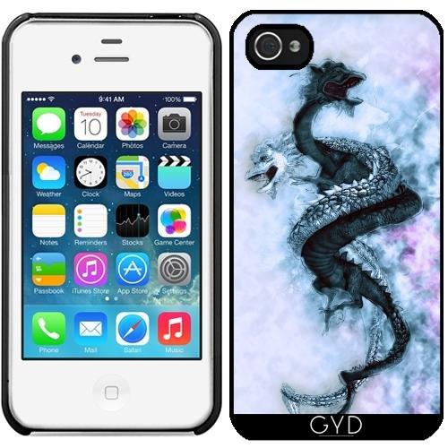 Leder Flip Case Tasche Hülle für Apple iPhone 6/6S - Double Dragon 4 by Illu-Pic.-A.T.Art Starre Kunststoff
