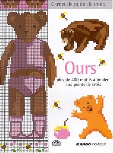 Ours : Plus de 400 motifs à broder au point de croix