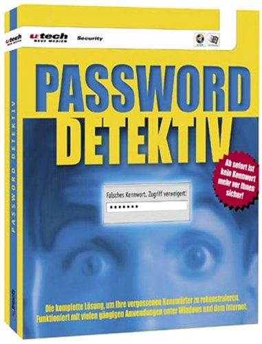 D- ROM für Windows 95/98/ NT. Kennwort- Entschlüsselung: Ihr Helfer in der Not ()