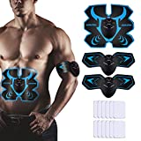 AUKUYEE Appareil Abdominal, ABS Trainer Electrostimulateur Musculaire EMS Muscle...