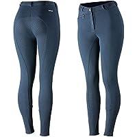 Horze Active, Pantaloni da equitazione da donna, con stampa in silicone, Marineblau (PDB), 46