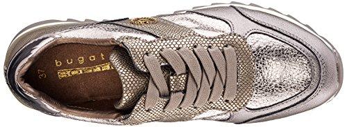 Bugatti - 422276015050, Pantofole Donna Braun (Metallic / Taupe)