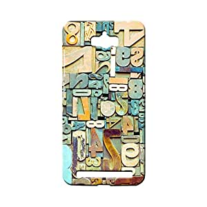 BLUEDIO Designer 3D Printed Back case cover for Asus Zenfone Max - G4990