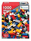 STARMO 1000 PIECE ASSORTED TOY CONSTRUCTION BUILDING BRICKS SET BLOCKS LEGO BUILD