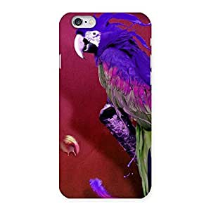 Cute Magic Parrot Multicolor Back Case Cover for iPhone 6 6S