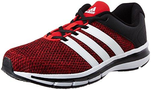 adidas Men's Magnus 4.0 M Scarle, Ftwwht and Cblack Running Shoes - 7 UK/India (40.67 EU)