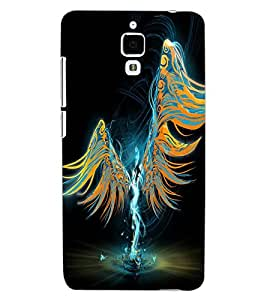 ColourCraft Angel Design Back Case Cover for XIAOMI MI 4