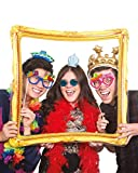 NPW Inflatable Photo Booth Selfie Frame Prop - Inflatable Selfie Frame Celebration Nation