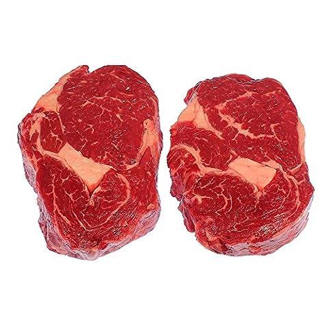 American Rib-Eye-Steak 3 Stück a 300 g = ca. 900 g