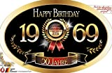 'Bester Jahrgang - 50 Jahre - Happy Birthday' Aufkleber